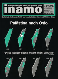 Inamo 23-24/2000: Palästina nach Oslo