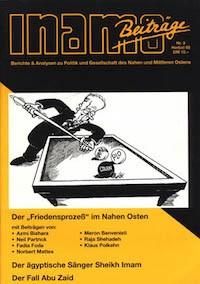"""Inamo #3/1995: Der """"Friedensprozeß"""" im Nahen Osten"""