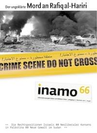 inamo, Heft 66: Der ungeklärte Mord an Rafiq al-Hariri