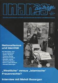 Inamo #2/1995: Nationalismus und Identität