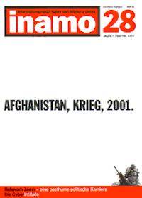 Inamo #28/2001: Afghanistan, Krieg, 2001.